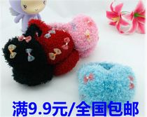 满9.9包邮/时尚超保暖蝴蝶结卷毛耳罩耳套2013 新品特价 价格:6.40