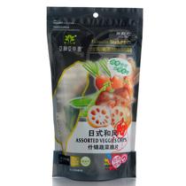 【日式和风】亚细亚田园综合什锦蔬菜果脆片干牛蒡莲藕萝卜荷兰豆 价格:16.80