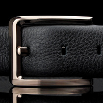 2013新款都鹏双面头层纯牛皮 商务休闲男士皮带针扣真皮腰带 正品 价格:229.00