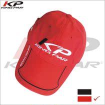 [正品]美国KING PAR(肯帕)品牌高尔夫球帽 有顶高尔夫帽子-红色 价格:35.00