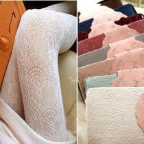 3件包邮 日系凤尾镂空蕾丝袜 薄款复古丝袜连裤 打底袜子 女 价格:18.85