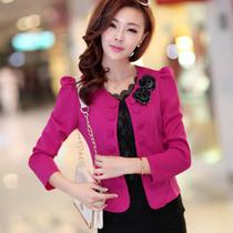 2013夏季秋装新款女装韩版短外套大码修身百搭小西服外套西装开衫 价格:42.00
