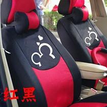 汽车三明治卡通座套/坐套 车用座椅套 四季通用 百款车型订做包邮 价格:193.00