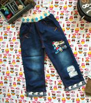 2013最新款男童史努比童装单层全棉可翻边牛仔裤长裤 超赞爆款 价格:46.80