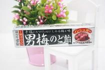 日本进口食品 诺贝尔 梅子味润喉条糖 42g 价格:12.80