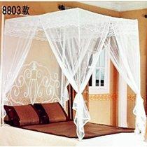 全新正品 SOFTLINE双层兜底方顶三开门双人折叠蚊帐适合1.5米 价格:135.40