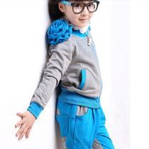 2013秋款秋装新款童装女童休闲运动套装天使城堡品牌正品TSC1878 价格:98.96