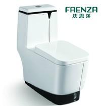 法恩莎卫浴洁具马桶节水静音喷射虹吸式座便器FB1692坐便器坐厕 价格:3288.00