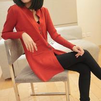 依佳子2013秋装新款韩版修身开衫毛衣外套显瘦女打底衫针织衫开衫 价格:99.00