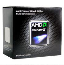 AMD羿龙II X4 965黑盒 四核CPU 3.4G/AM3/125W 不锁频 中文原盒 价格:690.00