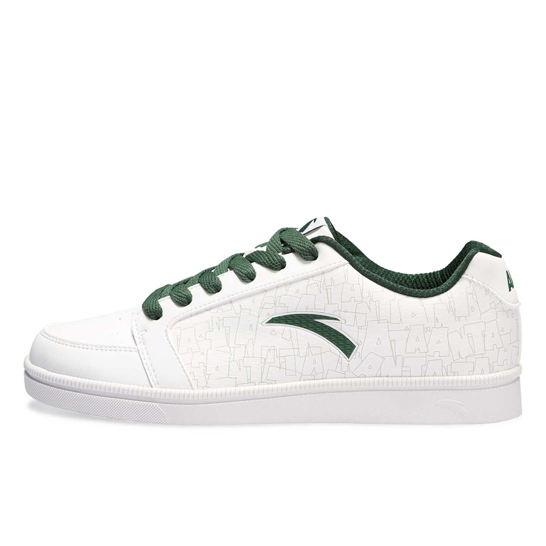 包邮ANTA正品特价安踏男鞋韩版潮白色休闲运动板鞋|91248053-1-2 价格:129.00