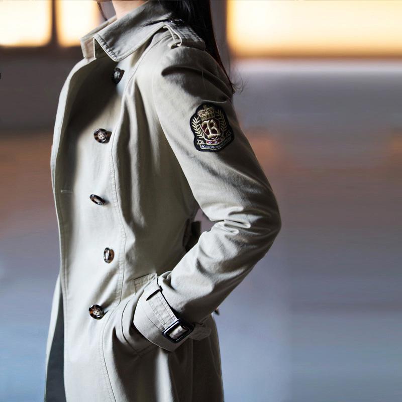 秋装女式 风衣女外套春秋修身韩版 ROJAY100%纯棉 2013风衣女外套 价格:298.00