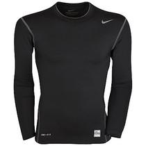 耐克PRO高端无缝技术 篮球运动紧身衣 长袖T恤 田径塑身健身衣 价格:43.20