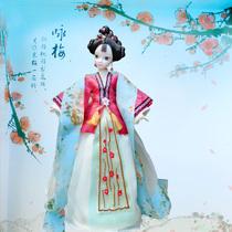 正品可儿娃娃高端古装衣服咏梅 关节体中国芭比娃娃女孩玩具 价格:250.00