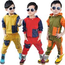 2013秋款运动套装男童套装休闲运动套装个性韩潮版童装爆款热销 价格:128.00