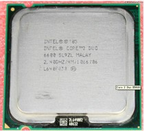 二手 Intel酷睿2双核E6600 LGA 775 Intel Core 2 Duo 价格:140.00