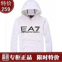 阿玛尼armani专柜正品代购 秋装休闲运动卫衣 加绒加厚套头卫衣 价格:1259.00