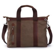 牧之逸 欧美复古男包 商务手提包电脑包 男女休闲包包 出差 价格:165.60