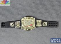 正版MATTEL 美泰WWE 摔跤摔角人6寸可动人偶金腰带配件模型玩具B 价格:35.00