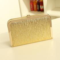 2013新款复古链条潮包晚宴包手拿包欧美手包硬壳包小包女包盒子包 价格:29.90