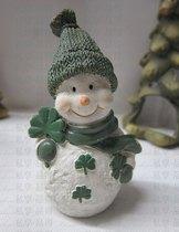 卡通 驯鹿/圣诞节礼品陶土雪人圣诞老人驯鹿卡通烛台新年礼物Christmas...