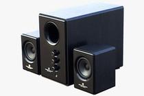 索威S737 同轴有源音箱 电脑音箱 2.1低音炮 遥控 插卡音箱 价格:375.00