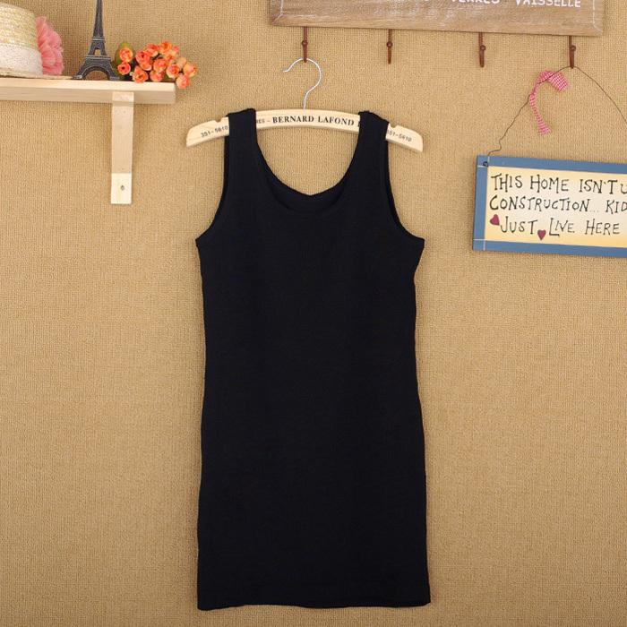 2013夏季新款 女式小吊带背心打底衫 弹力长款背心 价格:28.00