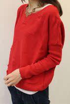 2013秋冬女装韩版复古爱心毛衣宽松显瘦圆领打底线衫罩衫毛衣外套 价格:65.00