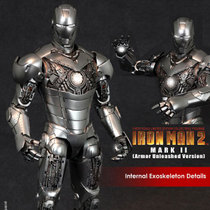 现货 HOTTOYS HT 钢铁侠2 MK2 盔甲 分解版 拆甲版 全新未拆 价格:1980.00