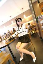 华娜 2013 欧美大牌小香风可爱甜美拼色百搭连衣裙百褶裙 K24 价格:33.00
