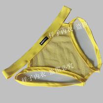 男士个性提臀翘臀内裤中腰性感透明透视男士丁字裤3条包邮特价 价格:14.00