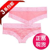 美国代购 维多利亚的秘密  性感蕾丝网纱内裤底裤 正品代购301877 价格:45.00