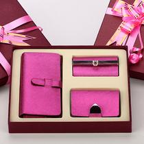 女士钱包女长款韩版 2013新款女钱包牛皮 卡包钥匙包套装潮女新品 价格:98.00