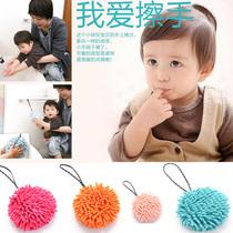 日本susu超细纤维 擦手毛巾 挂式擦手球 强力吸水球 日本抹布 价格:35.00