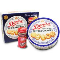 中秋团购进口食品皇冠牛油曲奇饼干908g 丹麦风味礼盒特价包邮 价格:79.00