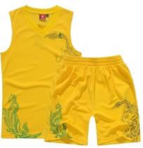 乔丹篮球服男女款球服 夏篮球训练服套装 正品比赛队服 印号印字 价格:58.00