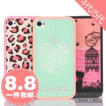 旅行系列 iphone4手机壳 iphone5手机壳 苹果4S保护套 边框 外壳 价格:8.80