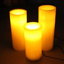 圆柱LED电子蜡烛灯 节日蜡烛生日蜡烛灯婚庆电子灯批发 送电池 价格:15.00
