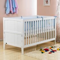 Alston欧式经典婴儿床实木童床少年床宝宝床游戏床安全环保耐用 价格:498.00