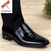 正品正装皮鞋新款时尚男士商务男鞋低帮鞋真皮日常男皮鞋英伦潮流 价格:168.00