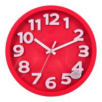 康巴丝新款静音挂表 立体字时尚客厅钟表卧室创意挂钟办公石英钟 价格:79.00