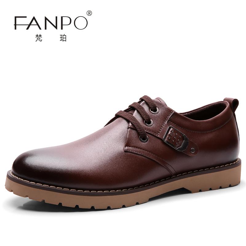 梵珀 2013新款韩版男士商务休闲鞋 英伦时尚潮流休闲软面皮鞋男鞋 价格:98.81