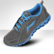 李宁跑步鞋正品运动鞋2013新款男鞋慢跑鞋夏季男士透气网面旅游鞋 价格:110.00