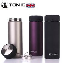 英国TOMIC特美刻保温杯保冷水杯双层不锈钢男士茶杯女士杯子正品 价格:139.00