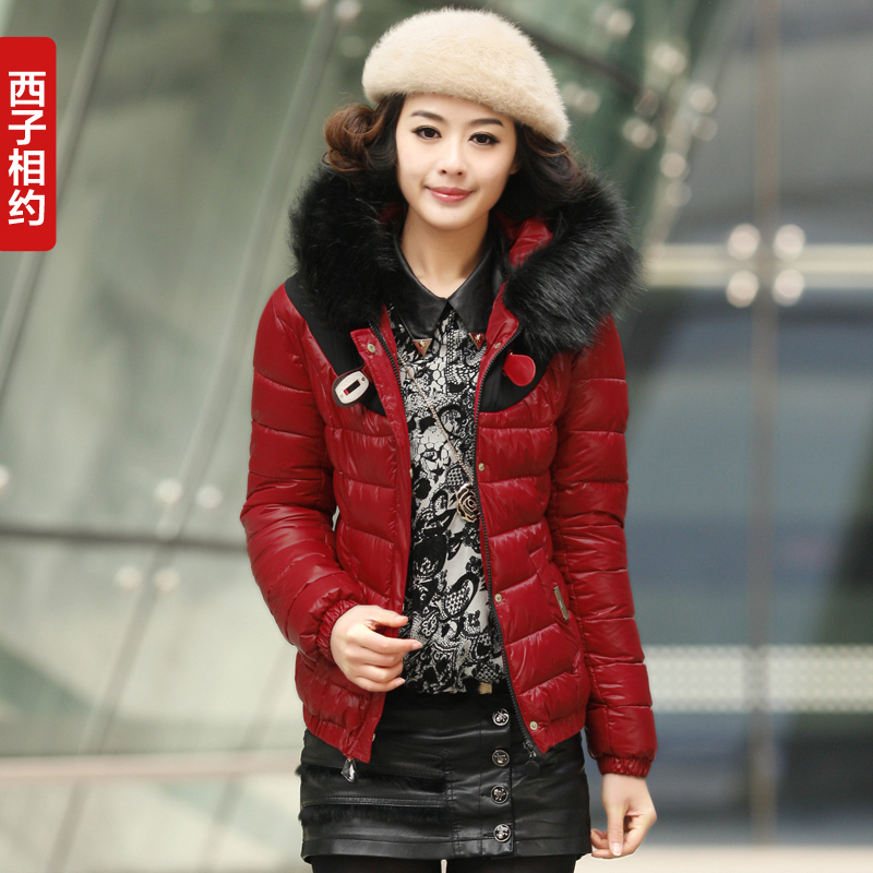 冬装外套 棉衣 女 2013秋冬新款韩版短款修身保暖棉袄女 女装棉服 价格:238.00