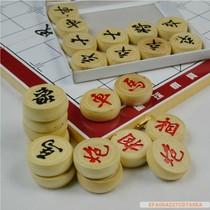 木质鼓形中国象棋套装|中国象棋折叠棋盘套装|连盘象棋 包邮 价格:20.00
