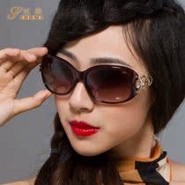 丝路正品女太阳镜防紫外线2013新款时尚百搭遮阳眼镜韩版镶钻墨镜 价格:169.00