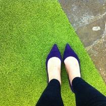 美国代购直邮 玖熙Nine West Izabela尖头中跟简约单鞋 2012款 价格:580.00