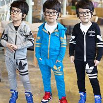 童装男童秋装2013新款 韩版小孩衣服宝宝卫衣+哈伦裤儿童运动套装 价格:83.90