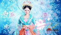 秒杀正品 仙女 贵妃 古装 舞台表演演出服装 飞燕袅袅露凝香服装 价格:370.00